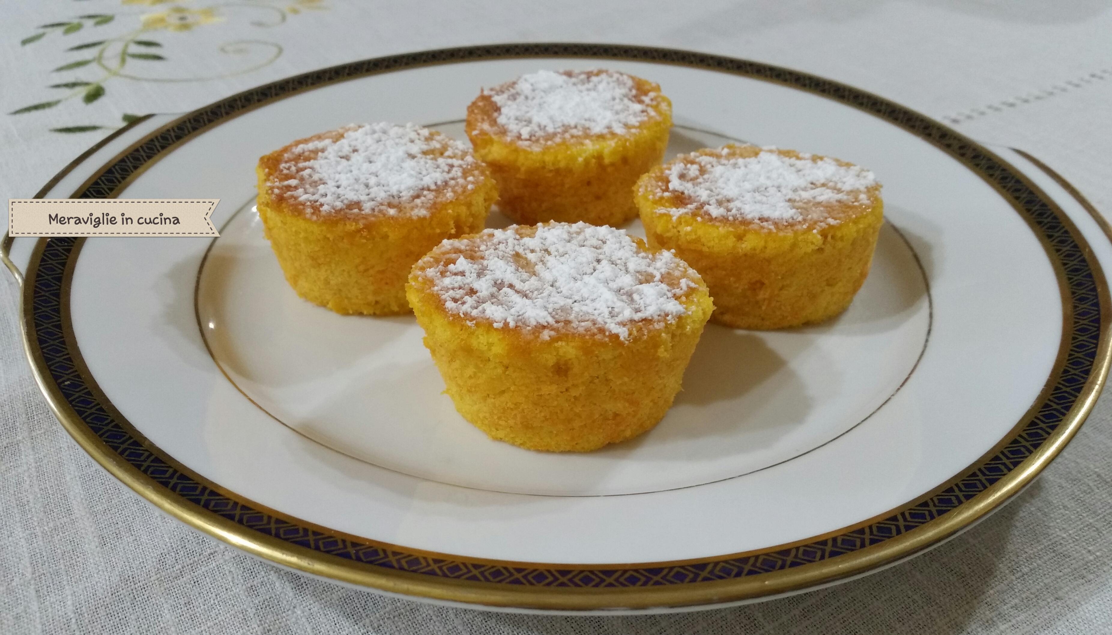 Tortine arancia carota e limone