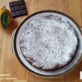 Torta caprese arancia e cioccolato