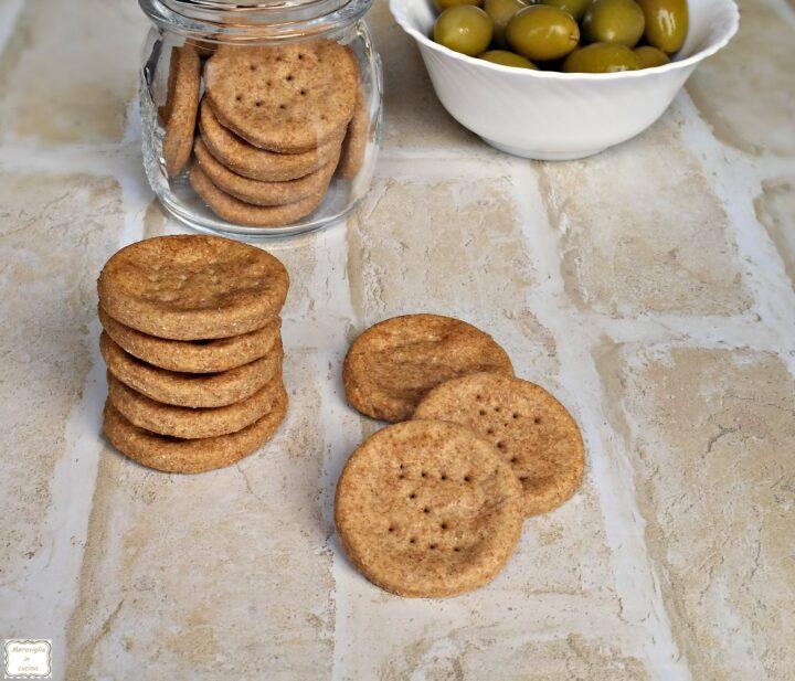 Biscotti salati integrali