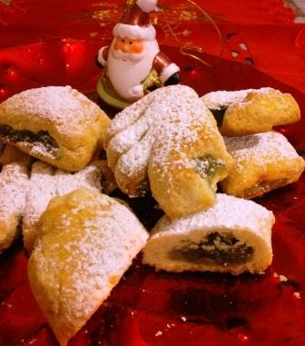 Biscotti ripieni di cedro siciliano