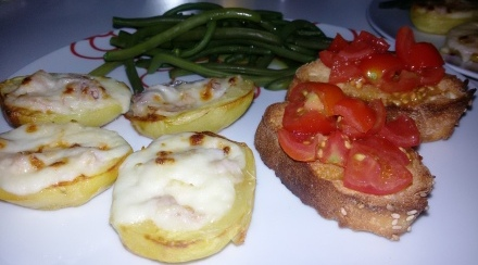 Barchette di patate