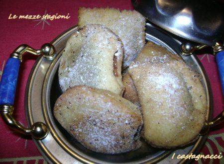 Castagnacci: Ricetta con nutella e castagne  Dolce di natale 