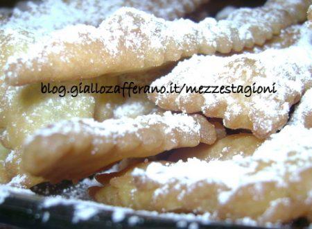 Chiacchiere di carnevale, ricetta base