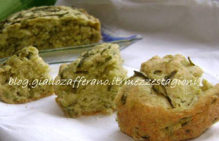 Torta salata con asparagi -Ricetta veloce con lievito istantaneo-