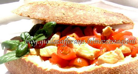 Insalata di pollo e pomodorini |Ricetta light|