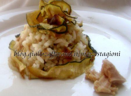 Insalata di riso con tonno e zucchine croccanti |Ricetta facile estiva|