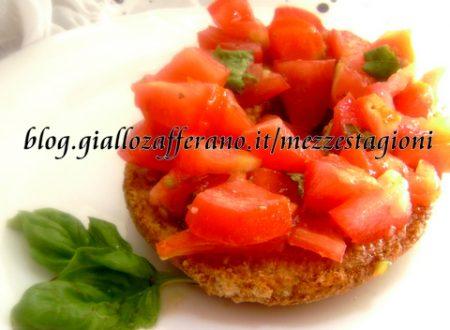 Friselle con pomodoro |Ricetta insalata estiva leggera|