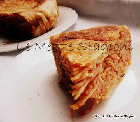 Pasta in crosta |Ricetta piatto unico per le feste