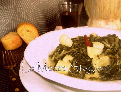 Minestra di cicoria e patate |Ricetta vegetariana