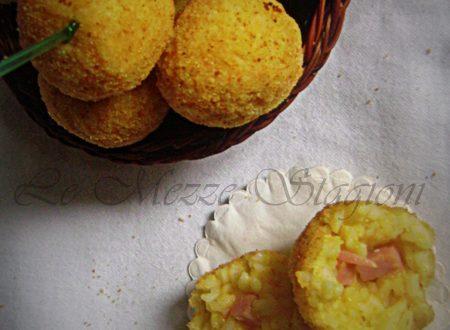 Crocchette di riso farcite, ricetta finger food