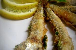 Alici gratinate al forno, ricetta economica di mare