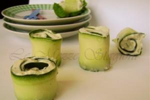 Involtini di cetrioli, ricetta antipasto