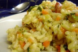 Risotto con zucchine e carote, ricetta