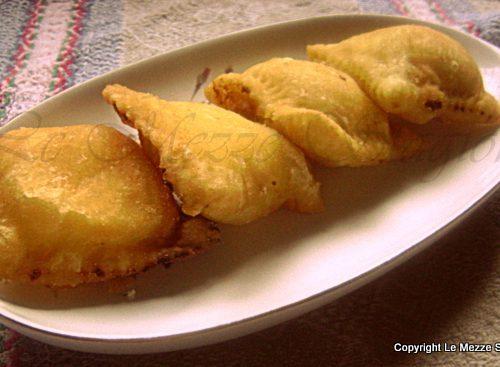 Ravioli dolci fritti alla ricotta e arancia, ricetta