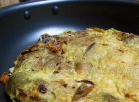 Frittata di carciofi, ricetta semplice