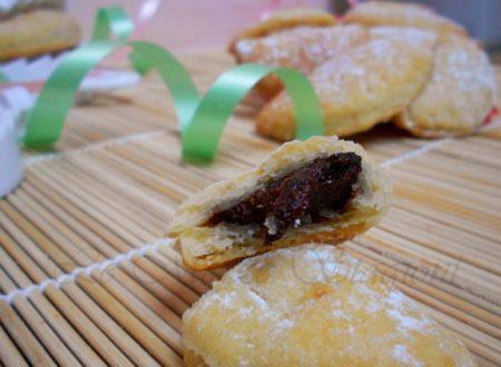 Tortelli di carnevale alla nutella, ricetta al forno