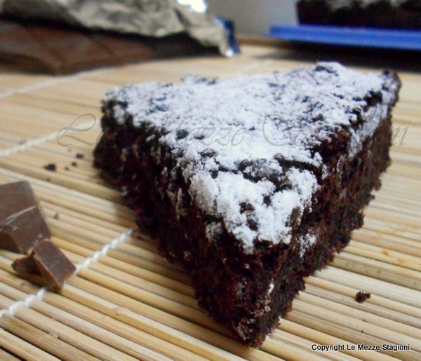 Torta al cioccolato senza farina, ricetta
