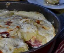 Parmigiana di patate, ricetta piatto unico