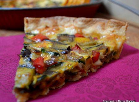 Torta salata alle verdure, ricetta