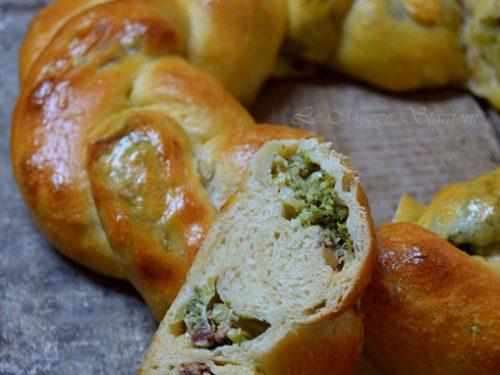 Corona salata farcita Ricetta tradizionale e Ricetta Bimby