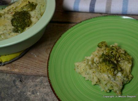 Sformato di patate e broccoli ricetta con e senza bimby