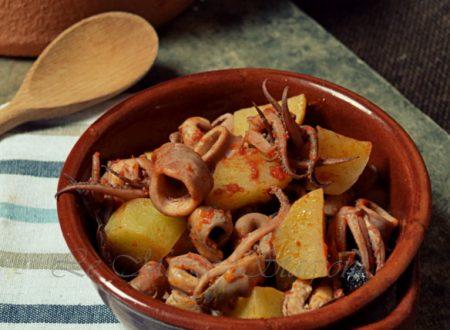 Totani e patate a zuppa ricetta secondo piatto