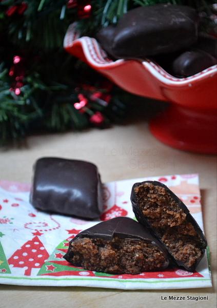 Mostaccioli al cioccolato di natale ricetta anche Bimby