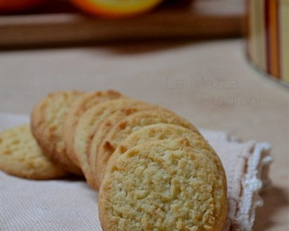 Biscotti all'arancia ricetta anche Bimby