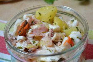 Insalata di mare con patate ricetta