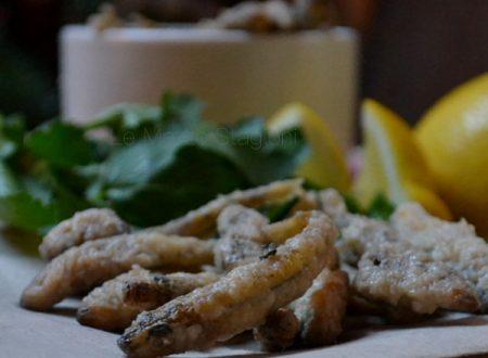 Frittura di alici croccante e perfetta ricetta