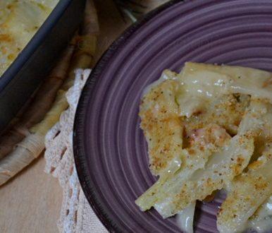 Finocchi gratinati light ricetta
