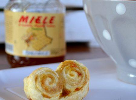 Ventagli di sfoglia miele e cannella