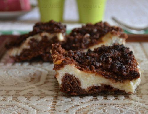Sbriciolata al cacao e ricotta ricetta anche bimby