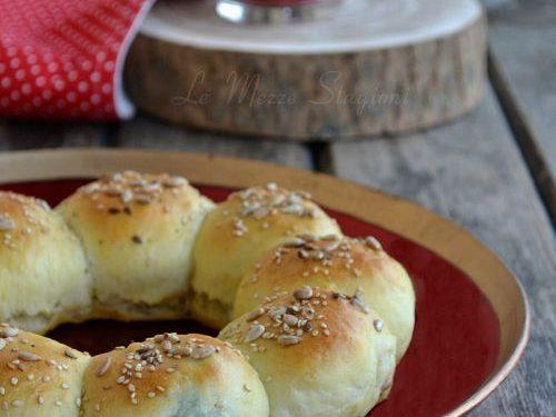 Pan brioche salato per natale ricetta