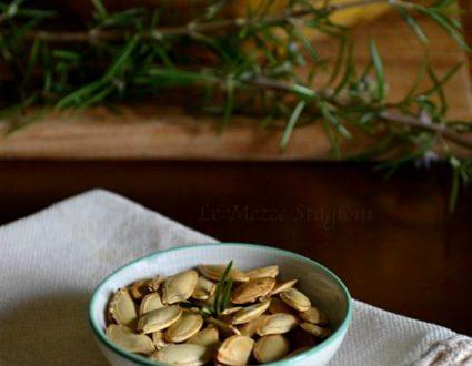 Semi di zucca tostati ricetta per farli in casa
