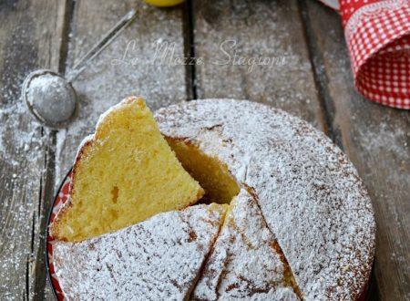 Torta al limone alta e soffice ricetta