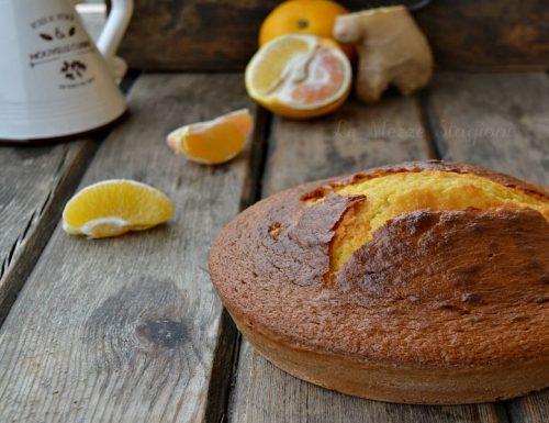 Torta arancia e zenzero