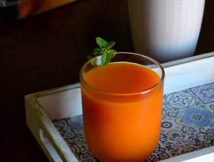 Succo di carote e zenzero