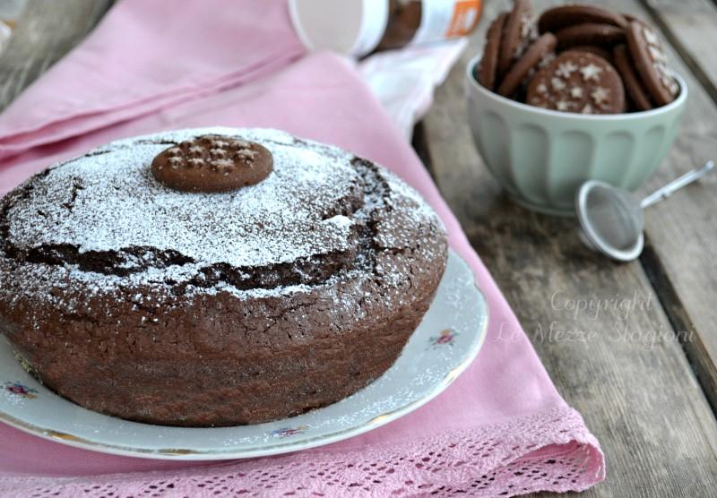 torta alla nutella e pan di stelle