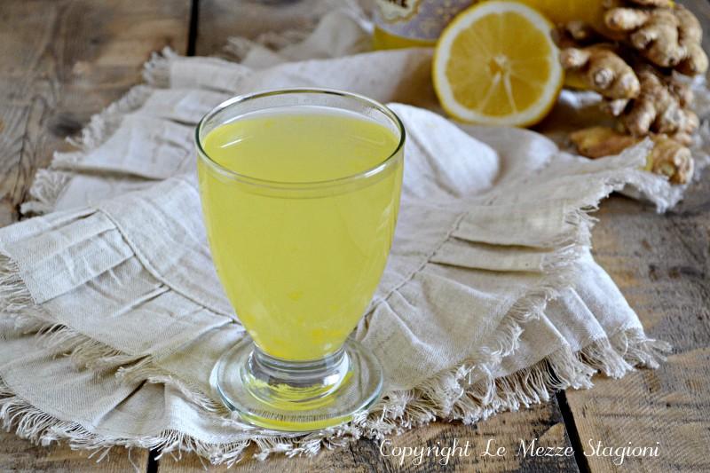 acqua zenzero e limone