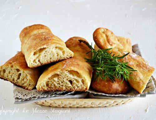 Stecche di Jim pane fatto in casa a lunga lievitazione