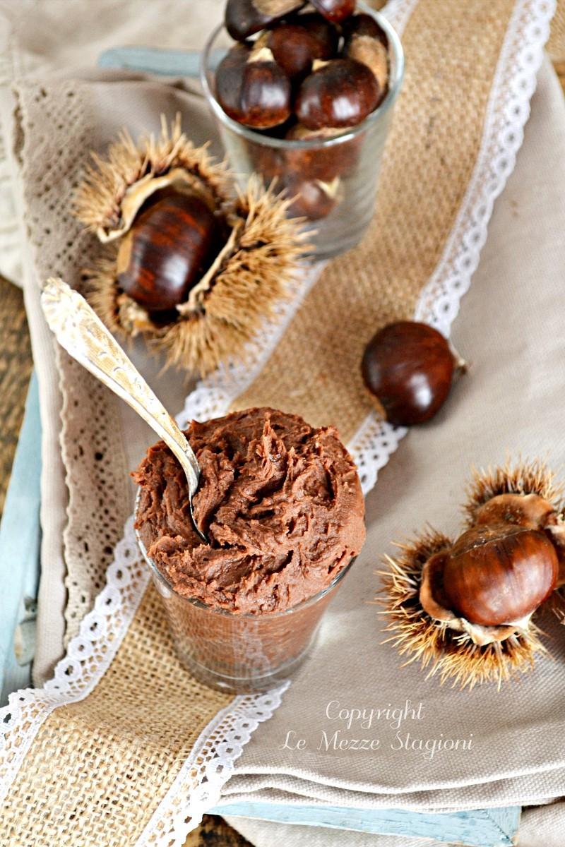 crema di castagne e nutella