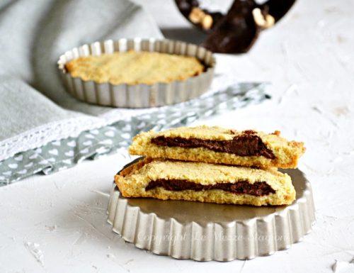 Crostatine nocciole e cioccolato