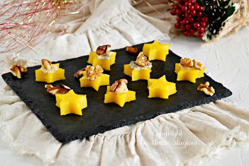 tartine di polenta