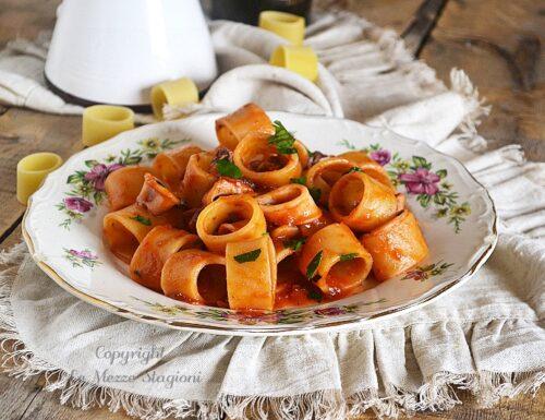Calamarata napoletana ricetta originale