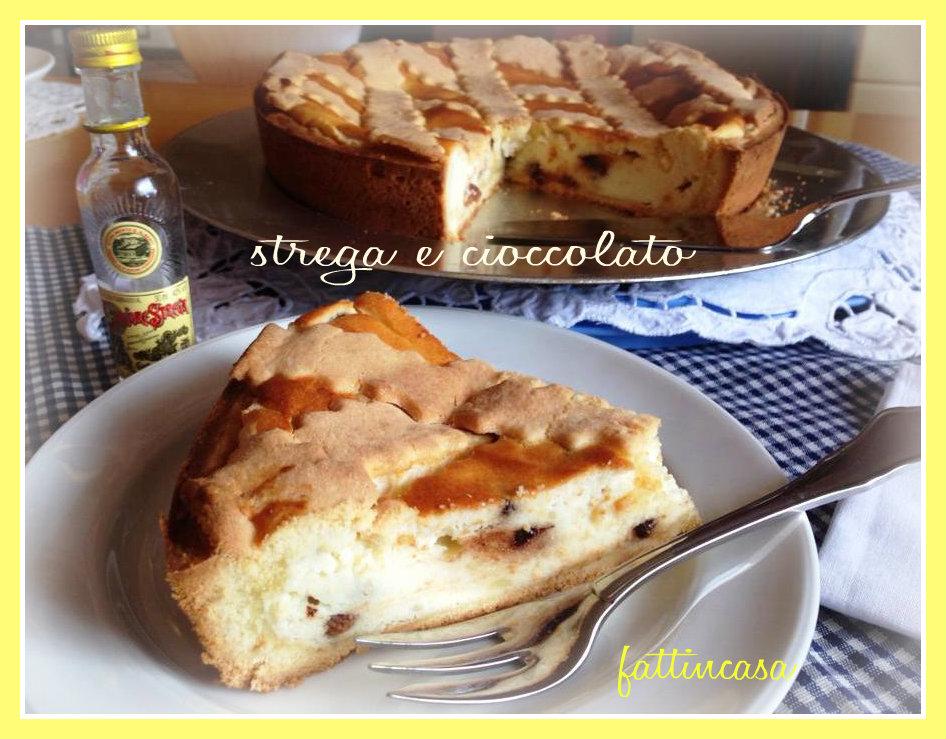 torta cioccolato e strega Torta di ricotta cioccolato e strega Per ultimare  un buon pranzo della domenica ... fb6c1aa34787