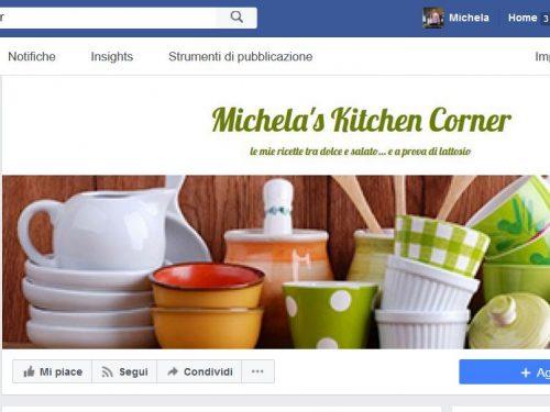 E' online la pagina Facebook di Michela's Kitchen Corner