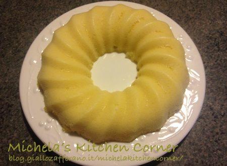 Ciambellone al limone (al microonde)