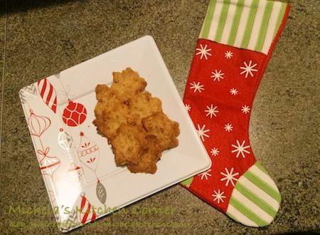 Xmas Cookies noci e sciroppo d'acero