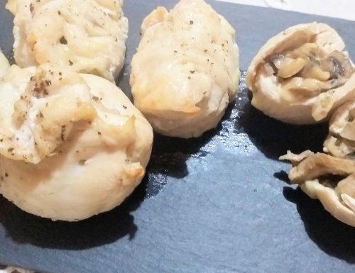 Involtini di pollo al forno